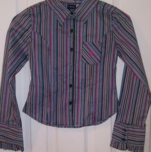 Girls izod button up